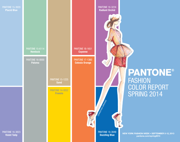 2014 Fashion Color Trends