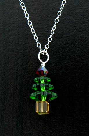 Xmas Tree Necklace