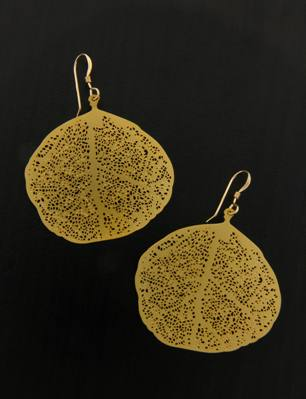 Golden Aspen Earrings