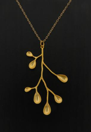 Golden Pods Necklace