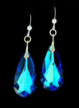 Moondrop Bermuda Blue Earrings