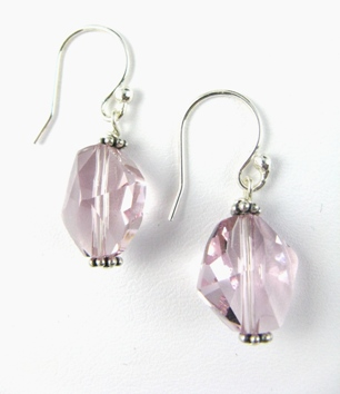 Cosmic Light Amethyst Earrings