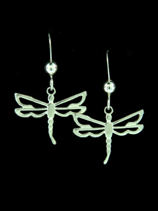 Dragonfly Open Work Earrings