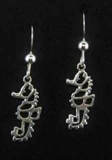 Seahorse Open Work Earrings