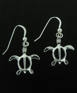 Honu Sea Turtle Earrings