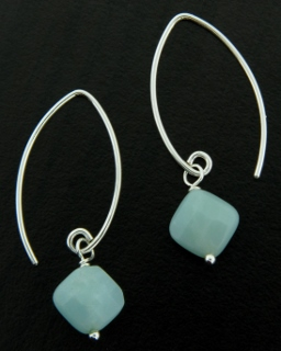 Marquis Amazonite Earrings