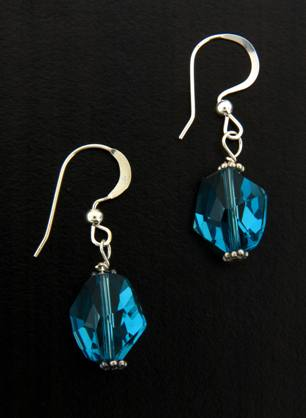 Cosmic Indicolite Earrings