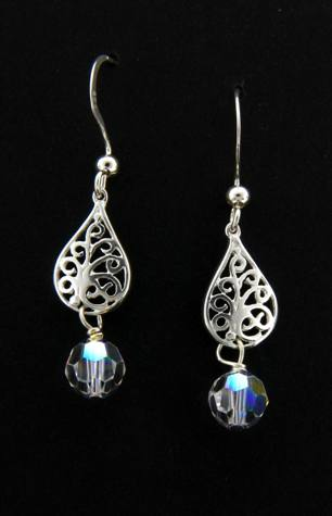 Crystal Clear Sparkles Earrings