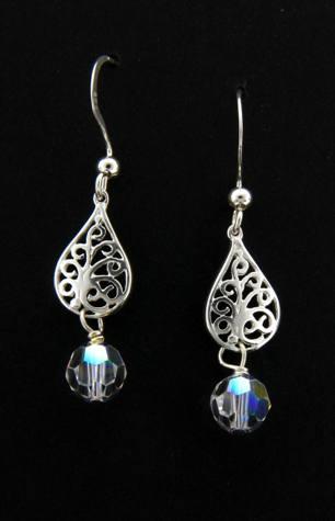Crystal Clear Sparkles Earrings