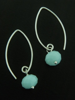 Marquis Alabaster Earrings