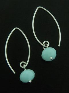 Marquis Alabaster Earrings
