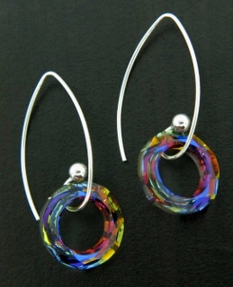 Marquis Volcano Earrings