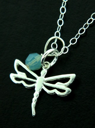 Dragonfly Open Work Necklace