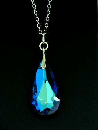 Moondrop Bermuda Blue Necklace