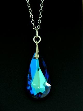 Moondrop Bermuda Blue Necklace