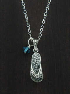 Flip Flop Sandal Necklace