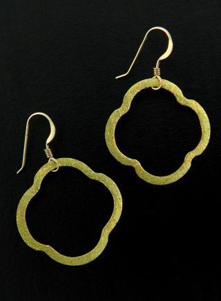 Moroccan Gold Vermeil Earrings