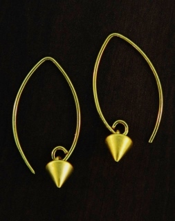 Vermeil Marquis Spike Earrings