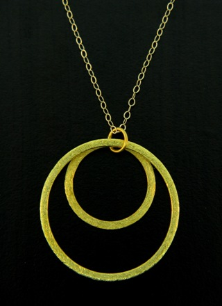 Gold Inner Circle Necklace