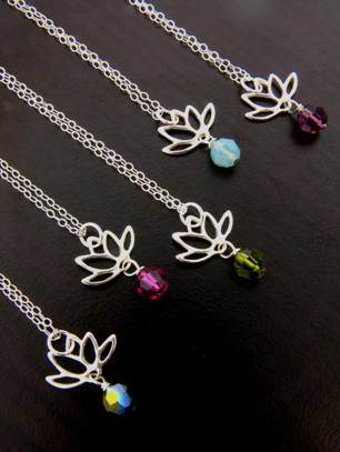 Lotus Blooms Necklace