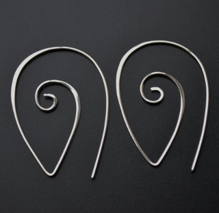 Spiral Spike Earrings