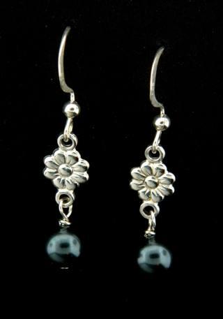 Tahitian Crystal Pearl Earrings