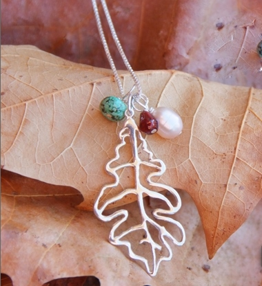 Oak Leaf Necklace